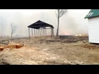 Пожары в Хабаровском крае