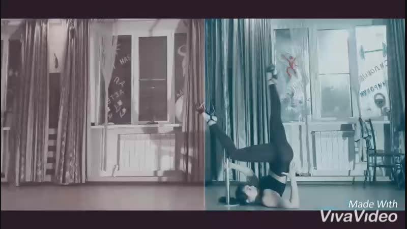 Exotic pole dance в Астрахани. Тренер Ирина Любименко. Фитнес-зал SixOneSix