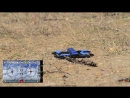 JJRC blue crab unboxing fly test