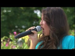 Sarah engels - only for you (zdf fernsehgarten 02.10.2011) - песня дитэра болена (dieter bohlen)