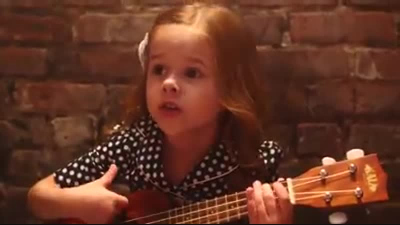 5-Year-Old Claire and Dave Crosby sing A Million Dreams from The Greatest Showman!