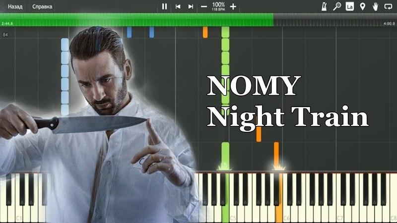Nomy - Night Train | Piano Tutorial