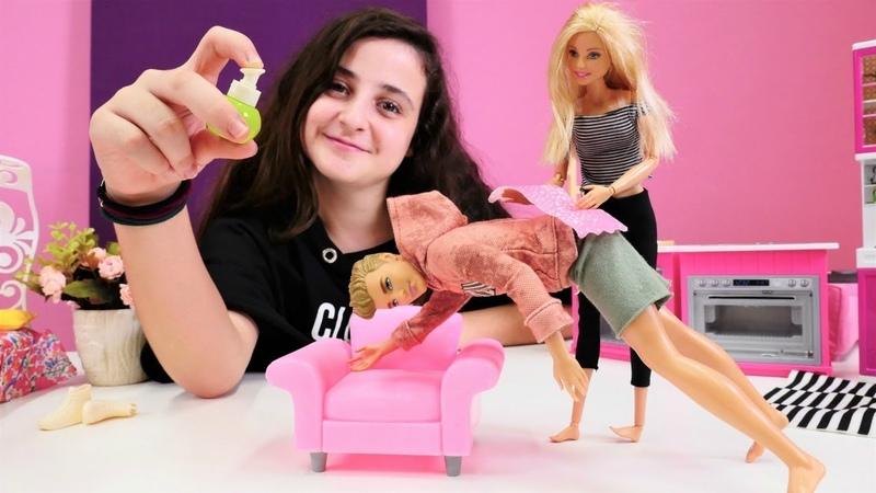Çocuk videosu. Barbie ile Ken klimayı açık bıraktı.