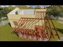 Пошаговая технология строительства каркасного дома в 3D