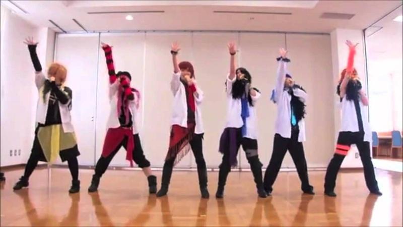 【DANCEROID+2人】マジLOVE1000%【踊ってみた】HD