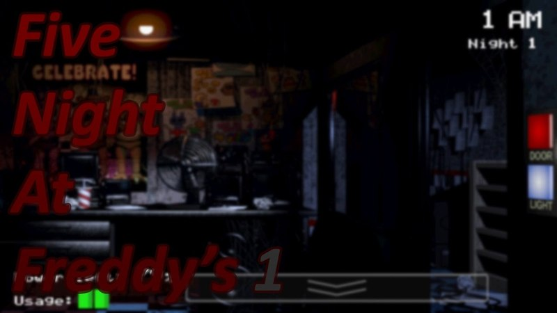 Let's Play Five Night at Freddy's 1