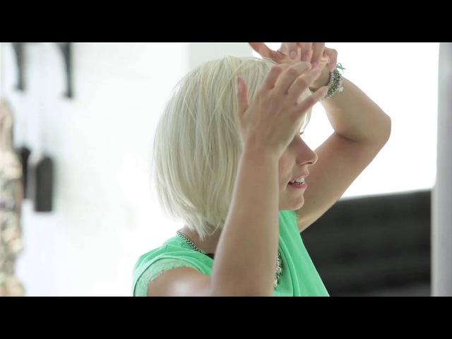 Как правильно надевать парик рассказывает Анника Хансен Парики Ellen Wille Русский перевод