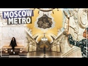 MOST BEAUTIFUL METRO IN THE WORLD! FIFA 2018 WORLD CUP VLOG MOSCOW, Russia