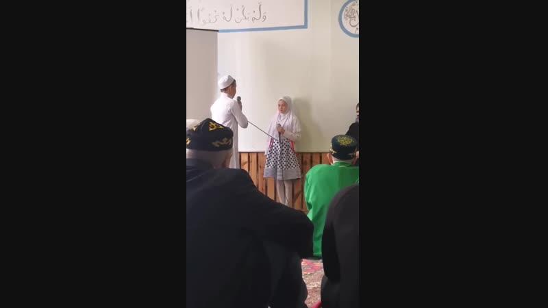 Сценка Пророк Мухаммад салаллаху алейхи салам и нищий иудей Детская творческая группа Нур иман мечети Пласта