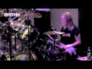 Nicko McBrain performs a drum solo during the Premier Evening with Nicko tour