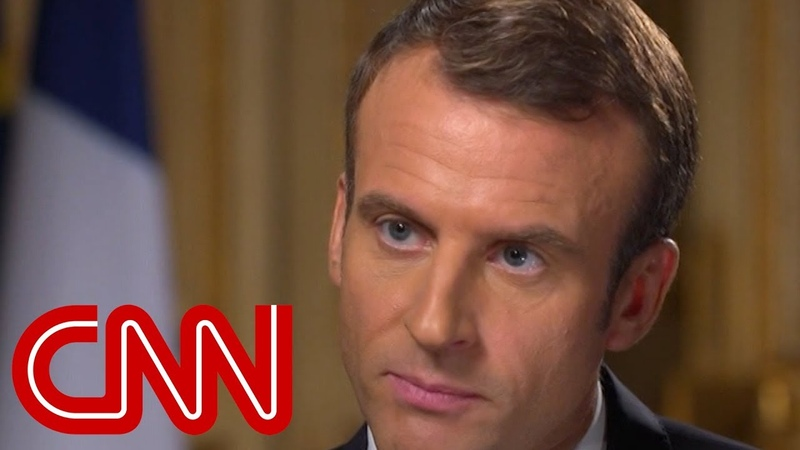 French President Macron I always prefer having direct discussion