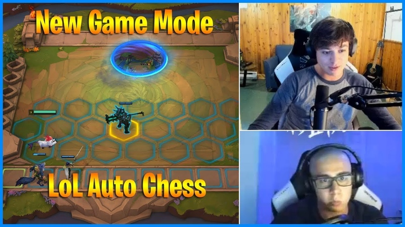 Community reacts to New Mode Auto Chess | LL Stylish reacts to TFBANE | LoL Daily Moments Ep 495