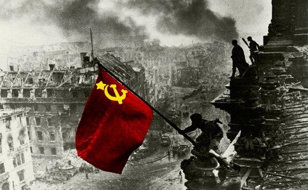✔9 Мая - Праздник победы русского народа над нацистской Германией в Ве
