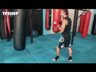 Кикбоксинг наработка. Как бить быстрее повторные удары ногами.