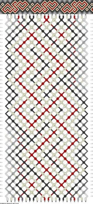 Плетение фенечек, схемы, уроки