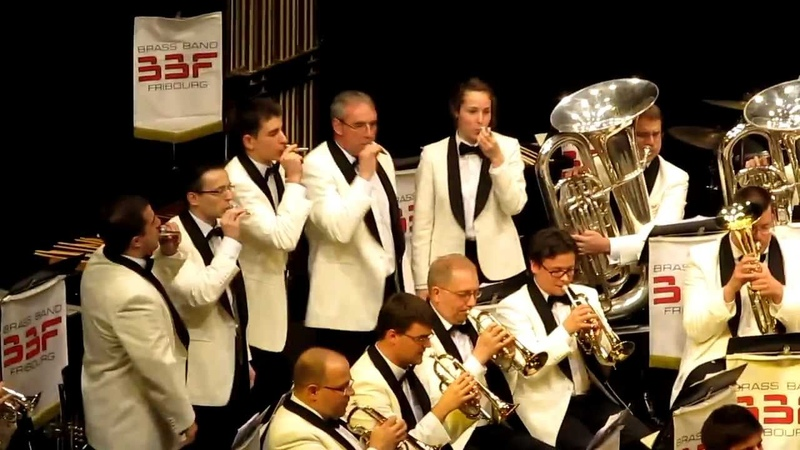 Brass Band Fribourg - The Bare Necessities - Auriane Michel