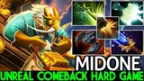 Midone Gyrocopter Max Attack Speed Unreal Comeback Hard Game 7.21 Dota 2