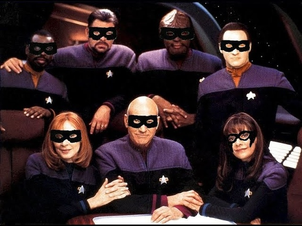 Star Trek The Next Generation crew tell what they stole