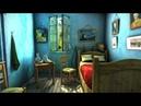 Картина Ван Гога 3D Спальня в Арле