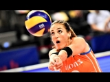 Volleyball LONG RALLY - How many touches (TURKEY vs NETHERLANDS). Womens VNL 2018.