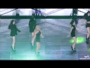 T-ara performing lovey dovey and roly poly