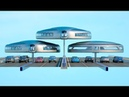Dahir Insaat Système de transport de deuxième niveau français