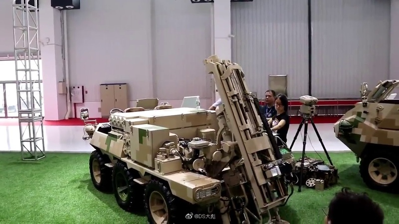 Семейство машин Lynx ATV 6Х6 120 мм миномет с механизированным заряжанием