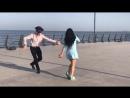 Девушка Очень Красиво Танцует С Парнями В Баку 201.mp4