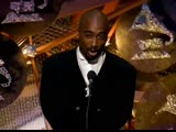 Tupac attended and presented Best Pop Performance by a Duo or Group with Vocal