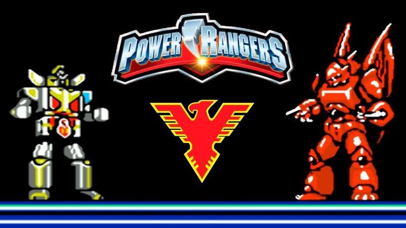 Choujin Sentai Jetman Bird Fighter Power Rangers прохождение (NES, Famicom, Dendy)
