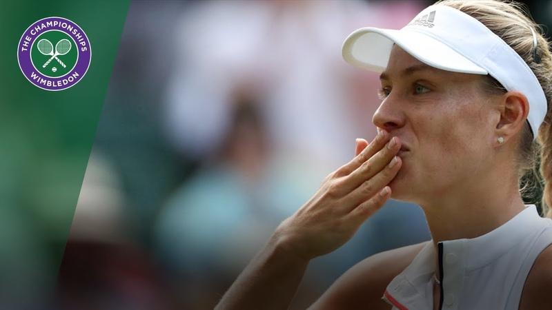 Angelique Kerber vs Naomi Osaka 3R Highlights | Wimbledon 2018
