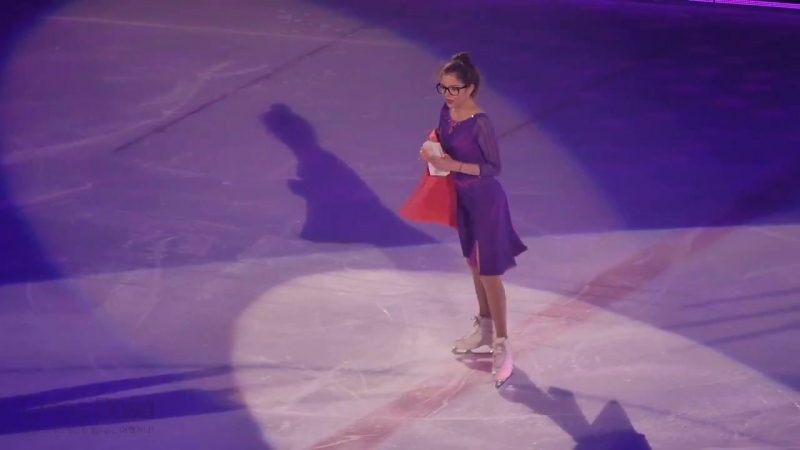 Evgenia MEDVEDEVA (RUS) Beautiful by Christin AGUILERA _ 2018-04-22 LG Ice Fantasia Show