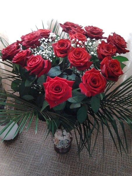 Фейерверк из роз! Фото Оксаны Шаруденко