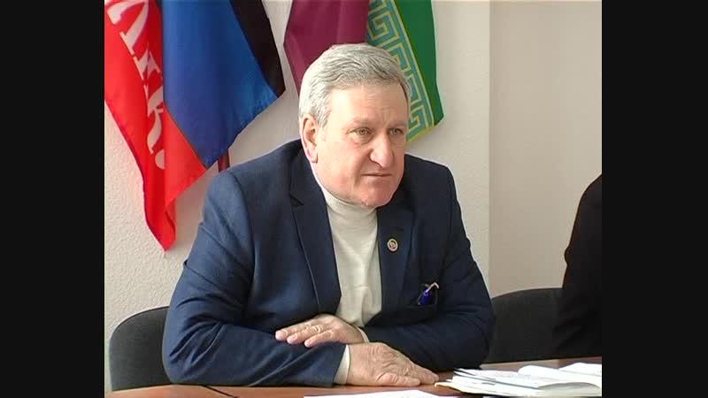 В администрации Старобешевского района прошло аппаратное совещание