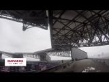 На «Мерседес-Бенц Стэдиум» достроили самую большую крышу в мире
