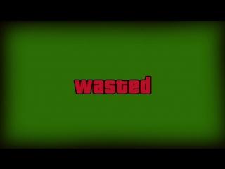 Футаж на зелёном фоне / Wasted