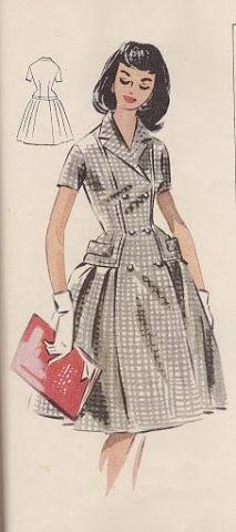 Выкройки платье винтаж