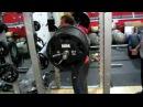 Derek Poundstone 605lb Squat for reps