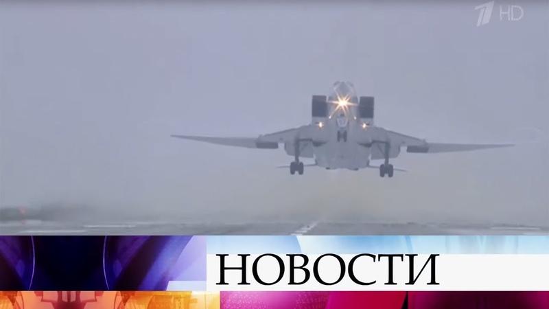 Бомбардировщик Ту-22М3 потерпел крушение при посадке в Мурманской области.