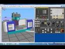 CNCSimulator Урок 1 Включение и запуск станка CNC