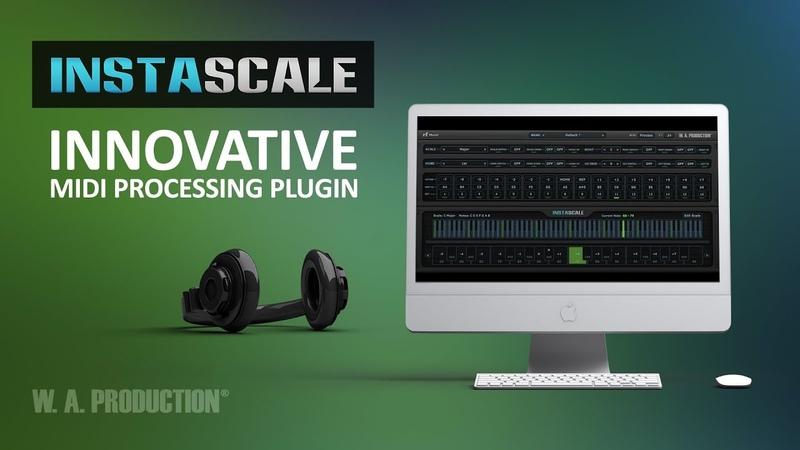 W.A.Production InstaScale - Innovative MIDI Processing Plugin (VST AU)