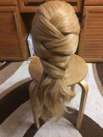 Причёска с переплётами (7 фото)