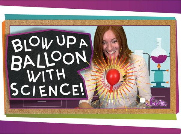 Blow Up A Balloon With Science!