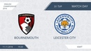 AFL18. England. Championship. Day 31. Bournemouth - Leicester City