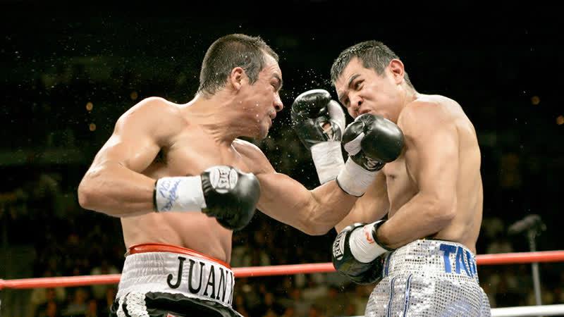 Juan Manuel Marquez vs Marco Antonio Barrera Марко Антонио Баррера - Хуан Мануэль Маркес