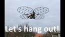 ChAIR -Manned quadcopter Episode 30 Actual backyard flight!