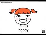 English For Kids- Happy Sad Warm Up!