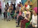Дед Мороз и Снегурочка в РОНЦ им Блохина