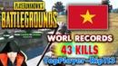 PUBG Rip113 WORL RECORDS 43 kills. Top Player Ep.3
