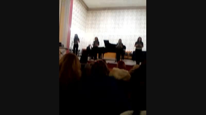 Вокальный ансамбль Глория - Agua de Beber